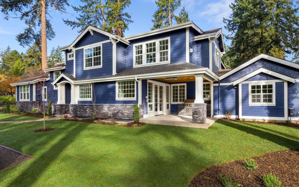 piękny luksusowy dom na wsi